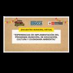 Experiencias de implementación del Programa Municipal EDUCCA