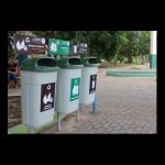 Instalación de puntos ecológicos en parques y jardines de la ciudad de Picota