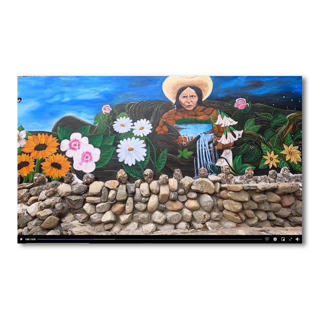 Murales ambientales y culturales