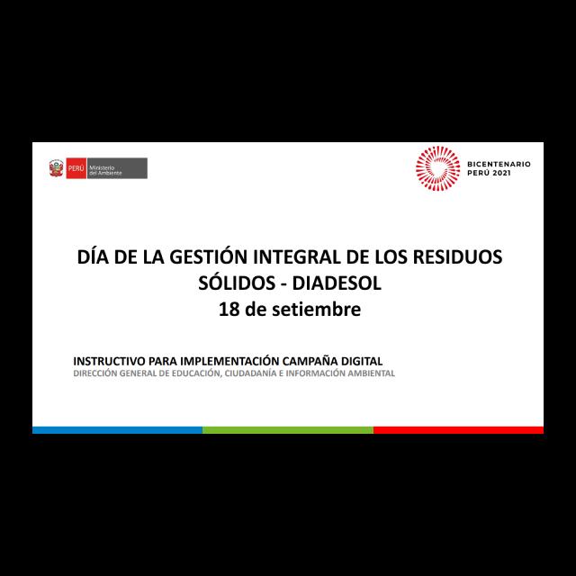 Kit comunicacional DIADESOL