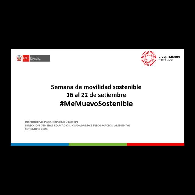 Kit comunicacional #MeMuevoSostenible